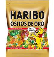 Haribo ositos oro zumo de frutas
